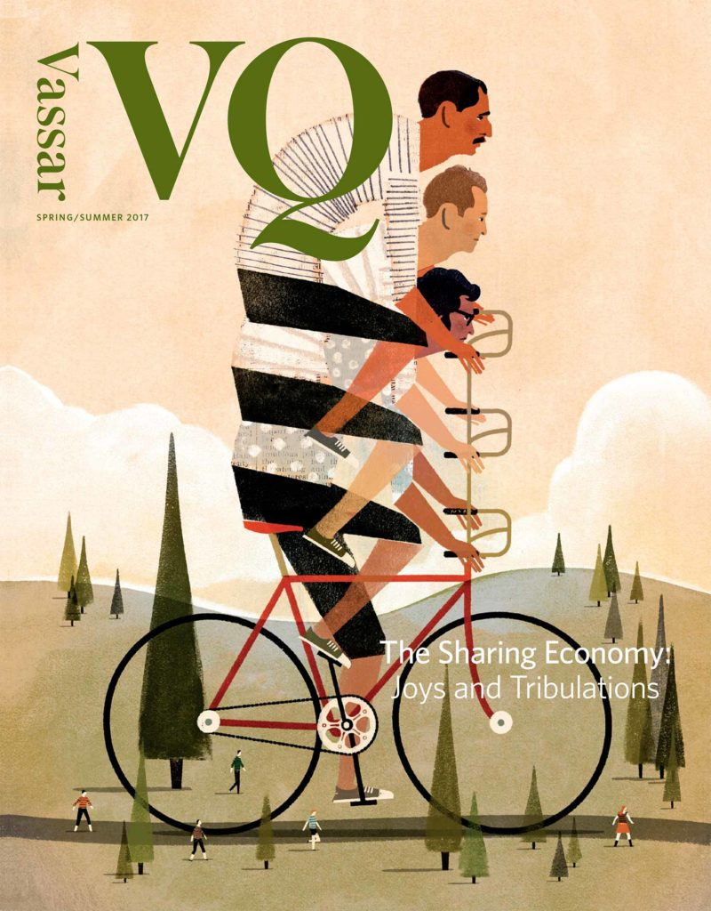 Press Vassar Quarterly Cover - Media Appearance